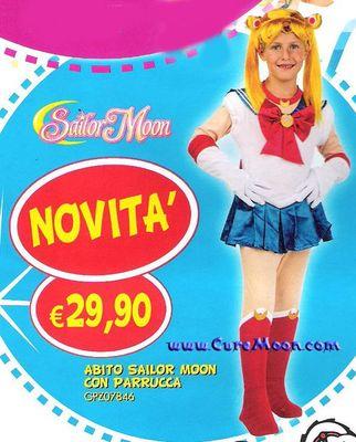 moda di lusso scegli genuino dal costo ragionevole Gadgets - Linea Scuola - Varie - Sailor Moon Costume ...