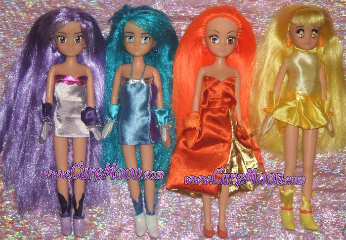 mermaid-melody-caren-sara-noel-coco-custom-ooak-bunnytsukino-dolls-bambole