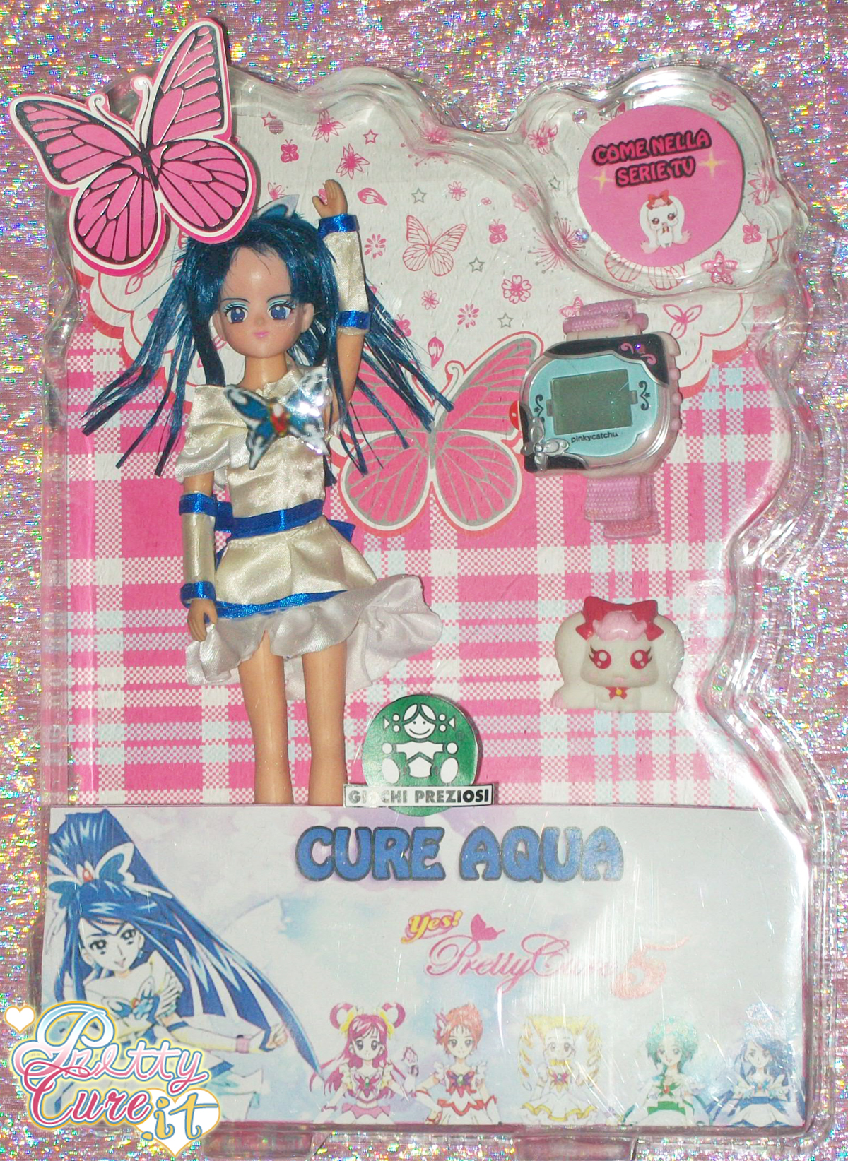 yes-pretty-cure-5-bambola-doll-aqua-custom-ooak-handmade-giochi-preziosi-stile-pinky-catch-coco-rai-backstage-trade-licensing