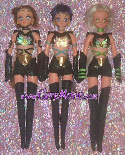 sailor-moon-stars-star-three-lights-maker-healer-fighter-doll-dolls-yaten-taiki-seiya-bambole-custom-ooak-curemoon
