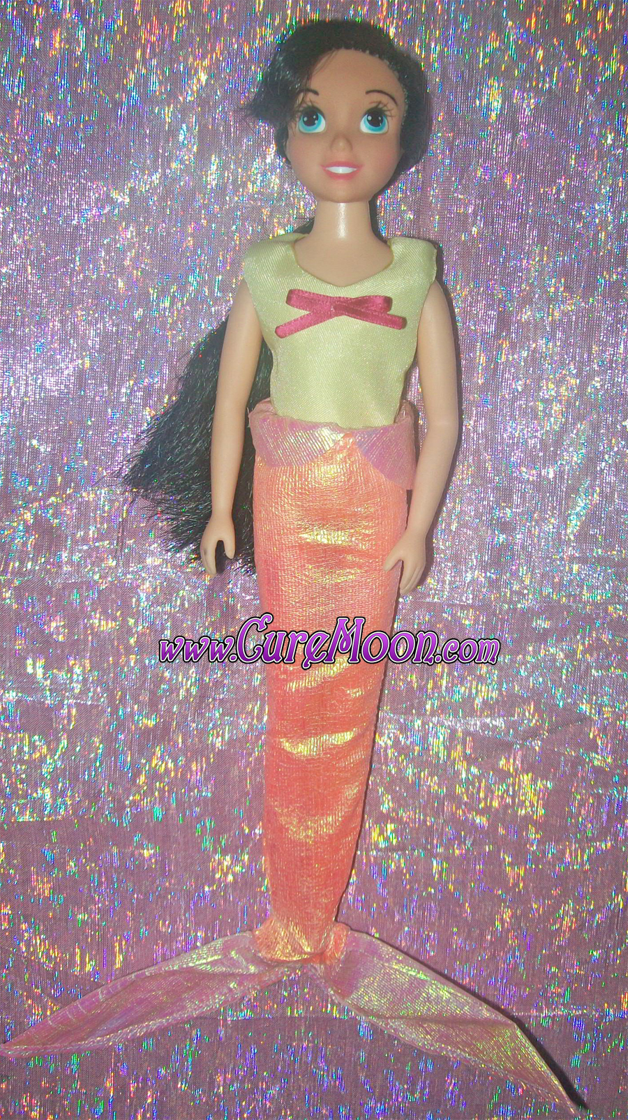 the-little-mermaid-sirenetta-doll-melody-custom-handmade-bambola-disney-curemoon-bunnytsukino