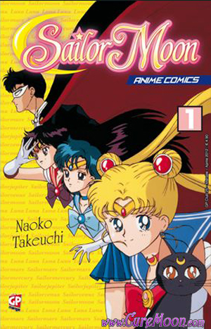 Sailor Moon Anime Comics 1 in Edicola e Fumetteria