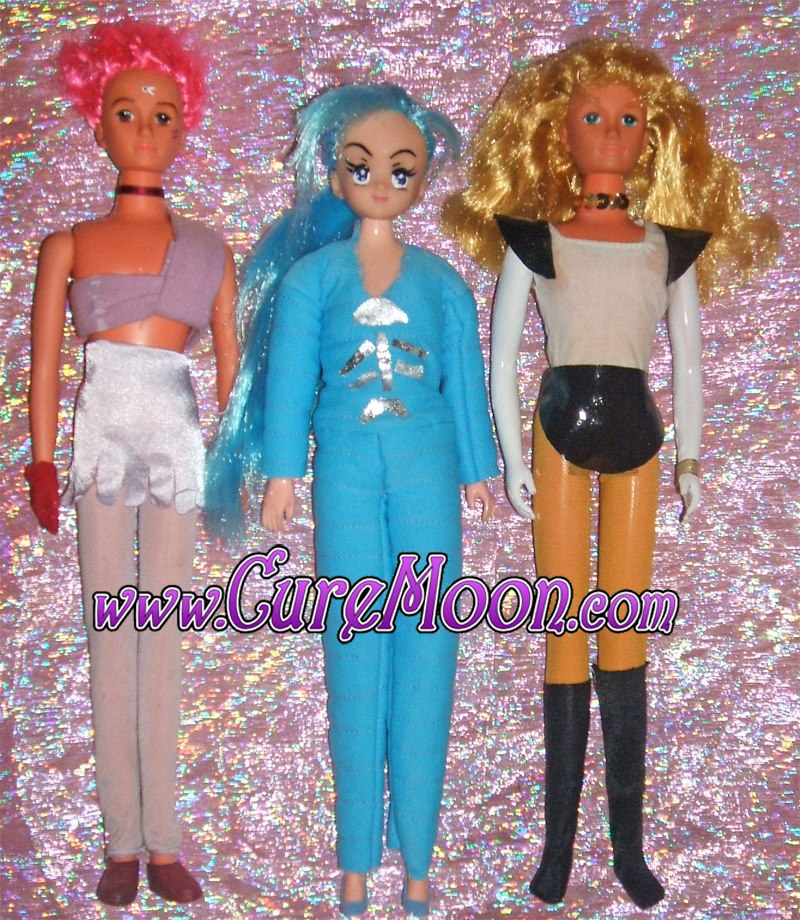 sailor-moon-super-s-occhio-di-tigre-falco-pesce-tiger-eye-fish-hawks-custom-dolls-doll-bambole-ooak-curemoon-bunnytsukino