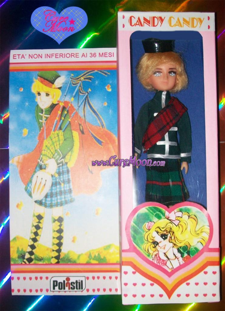 Candy candy il principe della collina bambola custom con scatola