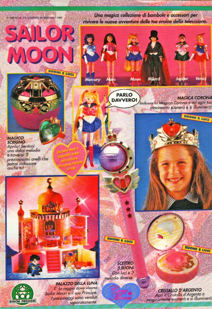 sailor-moon-catalogo-pubblicità-giochi-preziosi-anni-90