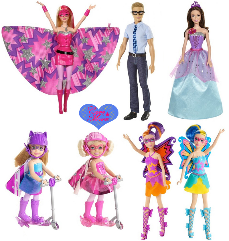 Barbie super principessa nuovo film e fashion dolls