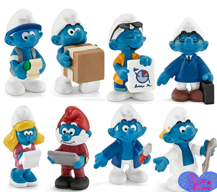 puffi-smurfs-the-office-2015-Schleich