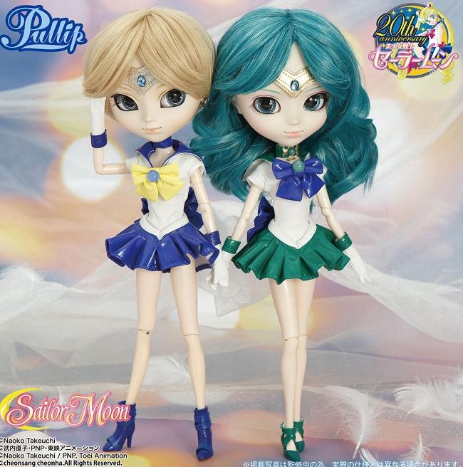 sailor-moon-pullip-neptune-uranus-dolls-bambole