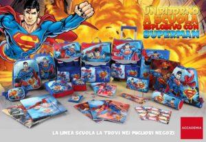 Linea scuola Superman by accademia