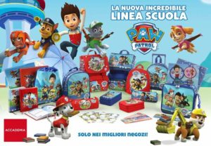 Linea scuola Paw patrol by accademia