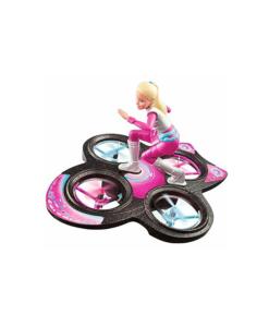 Barbie dal film :Avventure spaziali vola sulla base,con un telecomando si possono fare tante acrobazie come nel film.