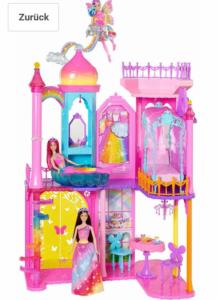 Castello barbie Dreamtopia,con due piani per rivivere le avventure