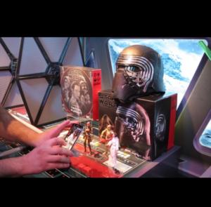 Maschera interattiva Darth vader con tante funzionalità di gioco