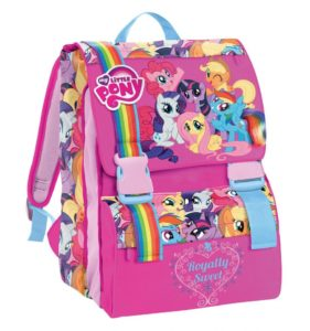 Zaino My little Pony con pony in regalo.by Cartorama disponibile tutta la linea scuola
