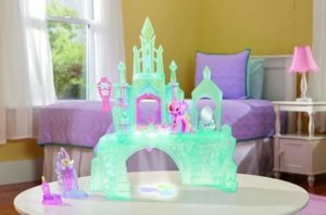 My little Castello luminoso inclusa princess cadance e la figlia Flurry heartm