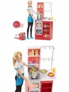 Barbie spaghetti,puoi preparare davvero i tuoi spaghetti con barbie,inclusa una cucina con barbie e tanti accessori,il divertimento e garantito.