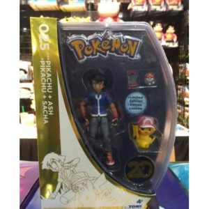 Action figures ash e pikachu speciale 20th.
