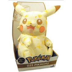 Peluche pikachu 20th edizione speciale