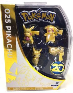 Pikachu collection speciale 20th