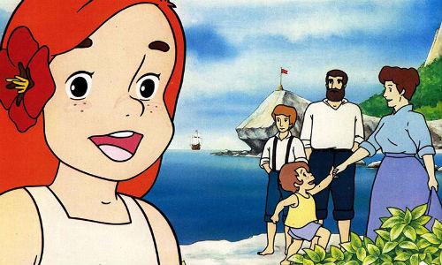 L isola della piccola flo ritorna in tv latte cartoni
