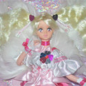Fresh Pretty Cure: Angel Peach Custom Doll Bambola ooak