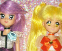 HeartCatch Pretty Cure: Cure Sunshine e Cure Moonlight Bambole Custom Dolls Ooak