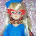 "Il Tulipano Nero ""Hoshi no senna"" Fashion Doll Bambola Custom ooak"
