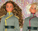 Sailor Moon: Nevius (Nephirite) e Jack (Jadeite) Custom Dolls Bambole Ooak