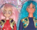 Sailor Moon R: Ale (Ali) e Anna (Ann) Custom Dolls Bambole Ooak